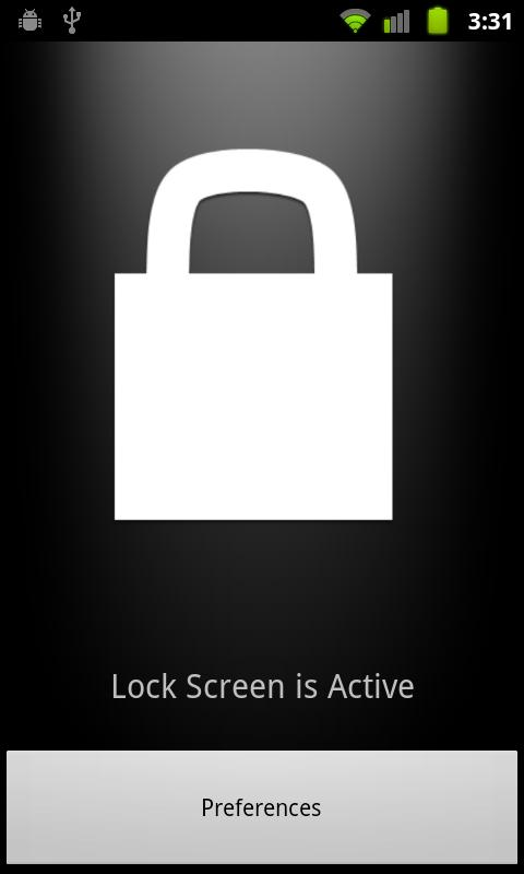 No Lock Screen - screenshot