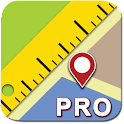 Maps Ruler  Pro icon