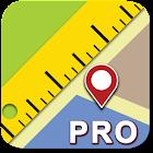 Maps Ruler  Pro icon
