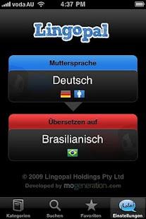 Lingopal Brazilian Portuguese - screenshot thumbnail