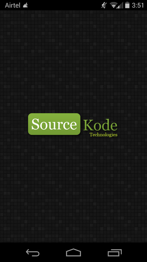 SourceKode- screenshot