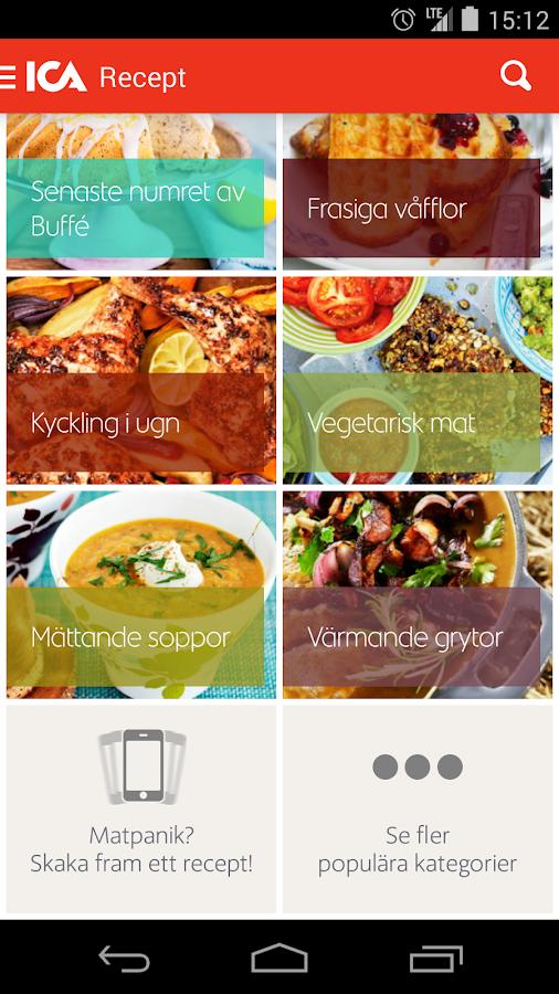 ICA Handla- screenshot