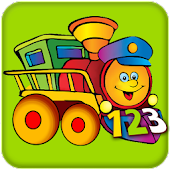 Kids Learn Numbers Train