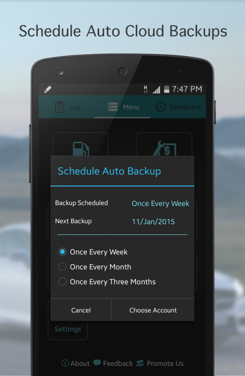Fuel Buddy - Car Mileage Log- screenshot