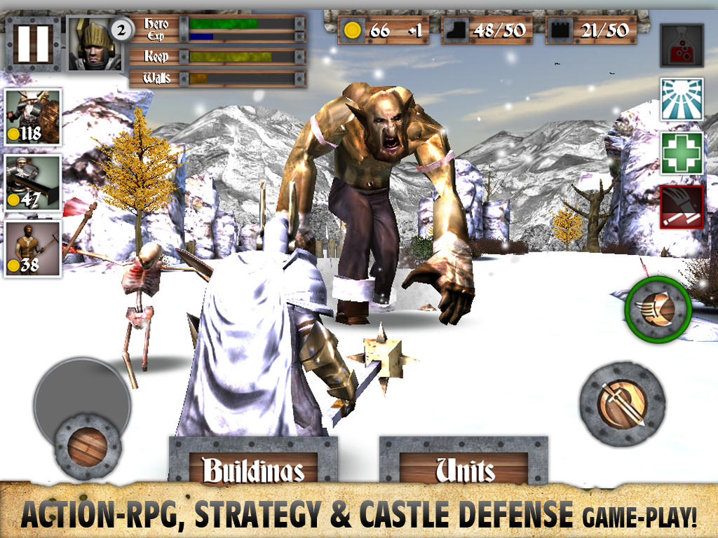Heroes and Castles- screenshot