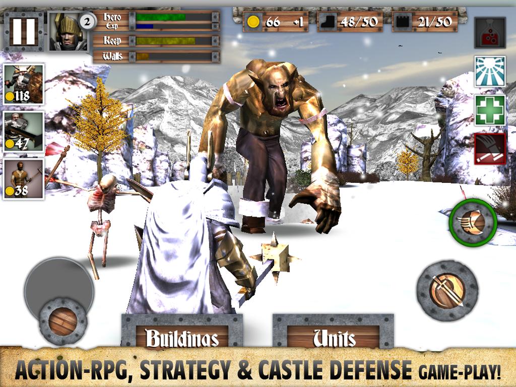 Heroes and Castles screenshot #12