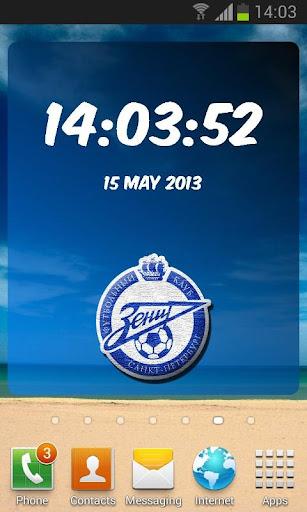 Zenit Digital Clock