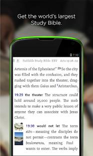 Faithlife Study Bible - screenshot thumbnail