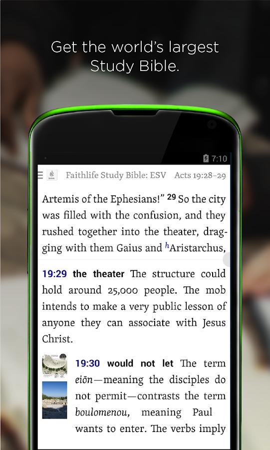 Faithlife Study Bible - screenshot