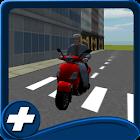 cidade carro tráfego scooter icon