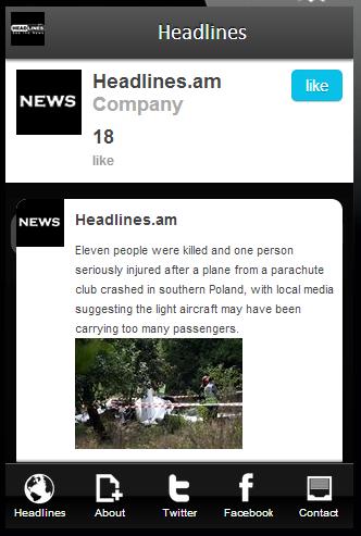 Headlines.am -Infographic News