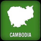 Cambodia GPS Map