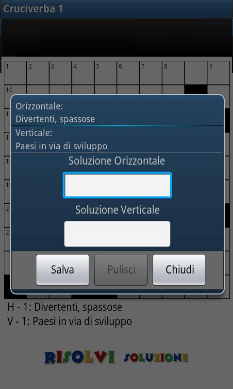 Cruciverba ITA - screenshot