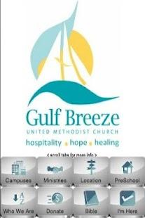 Gulf Breeze Methodist Church- screenshot thumbnail