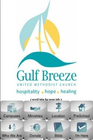 Gulf Breeze Methodist Church- screenshot