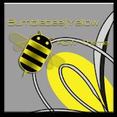 ADW Theme BumblebeeYellow