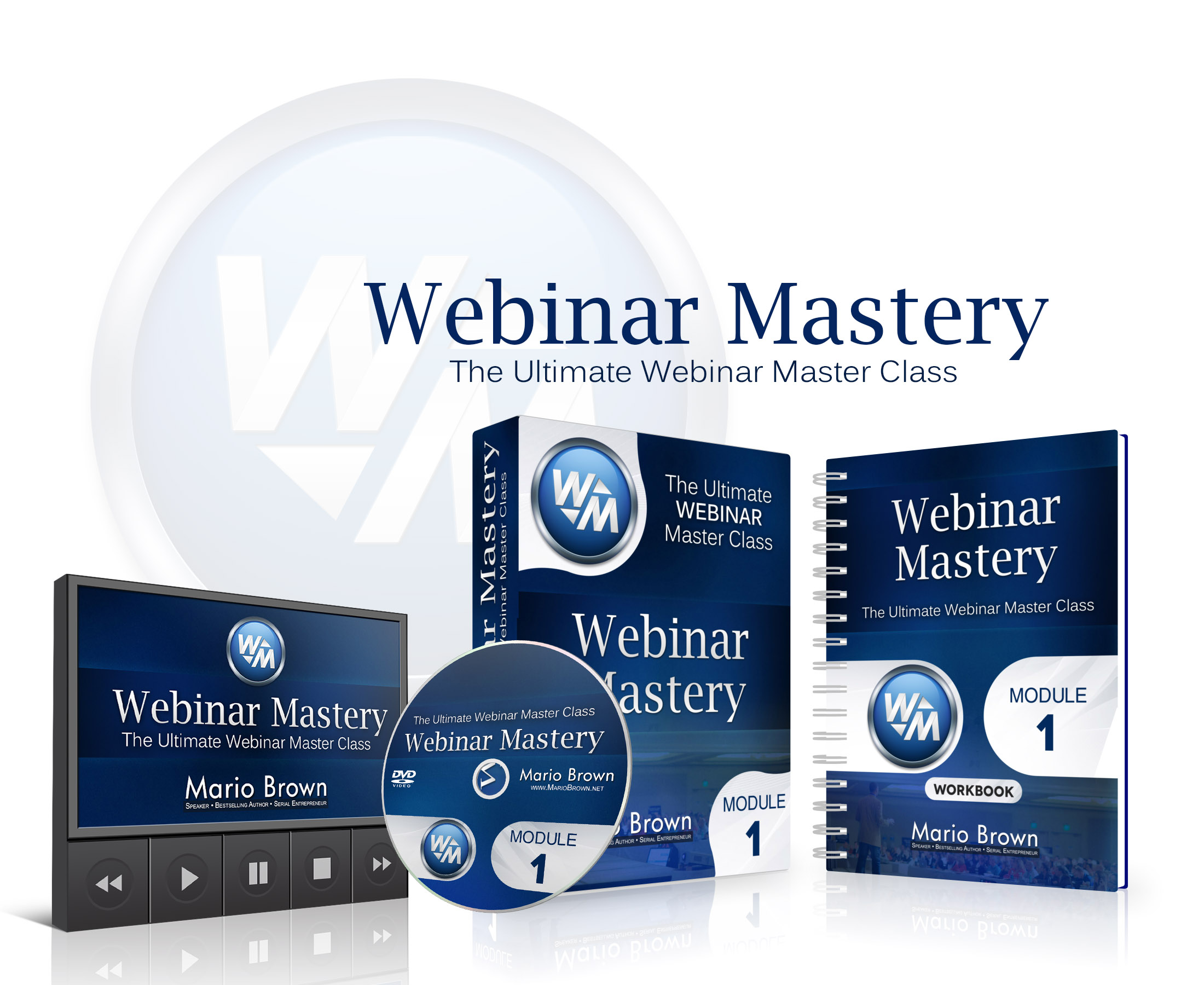 Mario Brown – Webinar Mastery