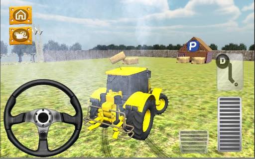 Traktör Park Etme Drift 3D