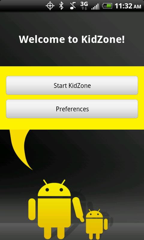 KidZone Secure Home Launcher - screenshot
