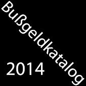 Bußgeldkatalog 2014