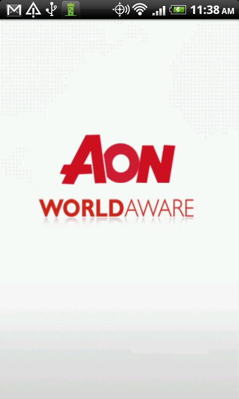 Aon WorldAware - screenshot