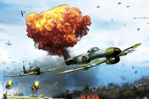 同盟國天空攻略 - 免费军队飞机赛车游戏