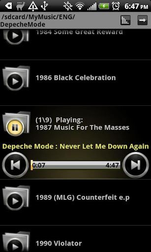 GUIDE]Android Music Players[GUIDE] - Android Forums at