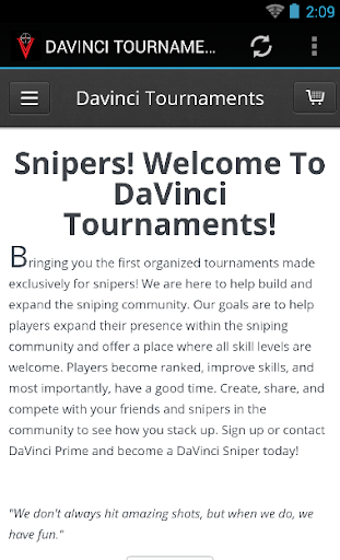 DAVINCI TOURNAMENTS