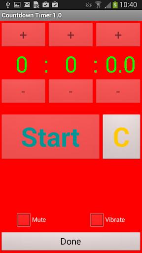 【免費生產應用App】Countdown Timer-APP點子