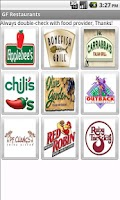 Screenshot of Gluten Free Restaurants