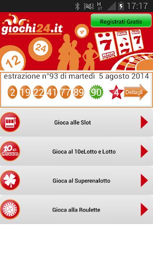 Giochi24 Lotto e Superenalotto