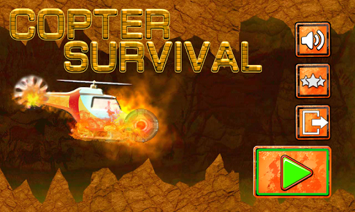 Copter Survival -An Adventure