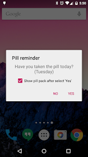 Lady Pill Reminder - screenshot thumbnail