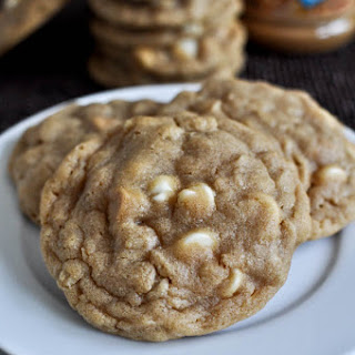 White Chocolate Peanut Butter Oatmeal Cookies.