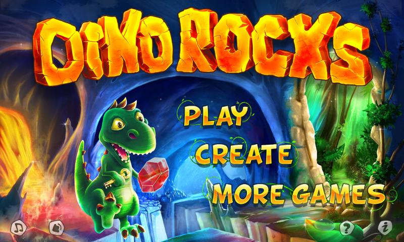 Dino Rocks - screenshot