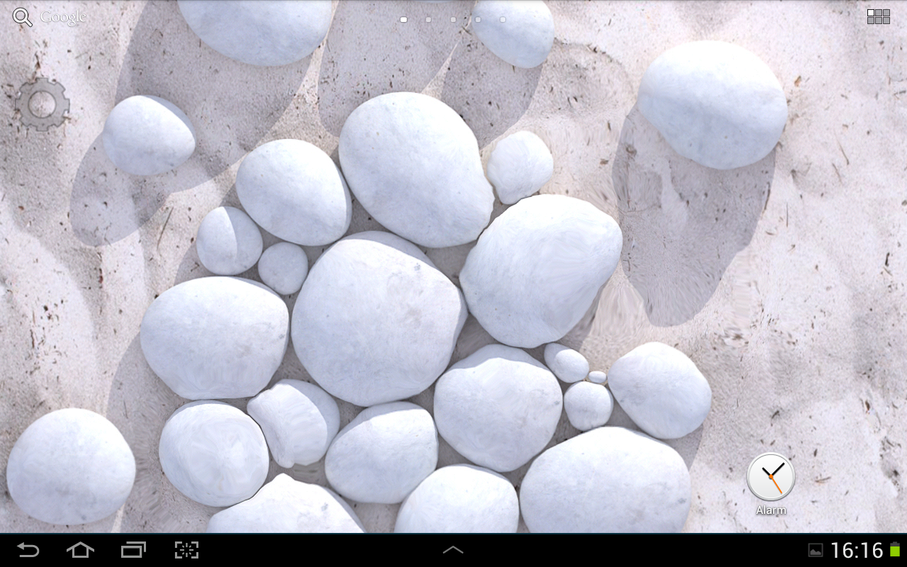 white pebble live wallpaper  android apps on google play - white pebble live wallpaper screenshot
