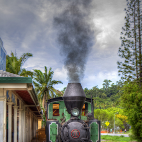 Balley Hooley by Peter Keast - Transportation Trains ( steam train, australia, train, tourism, transportation,  )