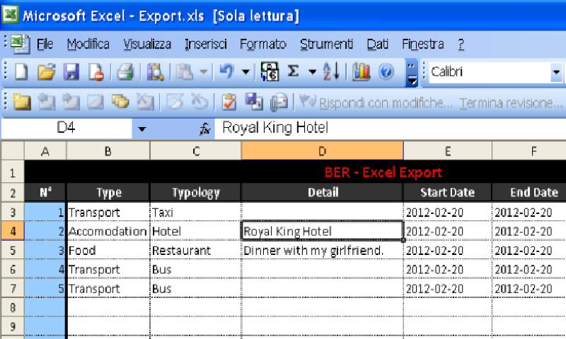 BER Business Expense Report Android Apps on Google Play – Expense Report