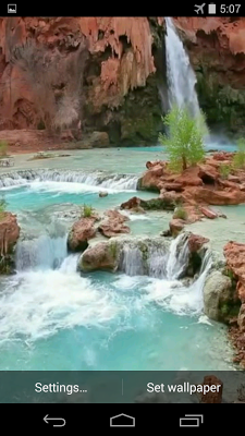 Waterfall Video Wallpaper - screenshot