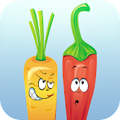 Angry Veggies: Rush Hour
