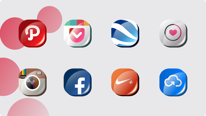 Cherry G FREE - Icon Pack - screenshot