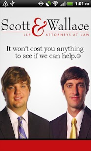 Scott & Wallace - PI Attorneys - screenshot thumbnail