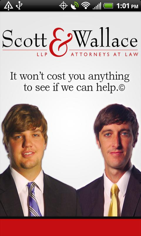 Scott & Wallace - PI Attorneys - screenshot