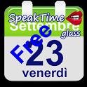 SpeakTime glass widget free icon