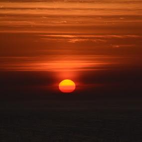 Darkness becomes Light by David Stemple - Landscapes Sunsets & Sunrises ( rise, ocean, sunrise, morning, myrtle beach, sun )