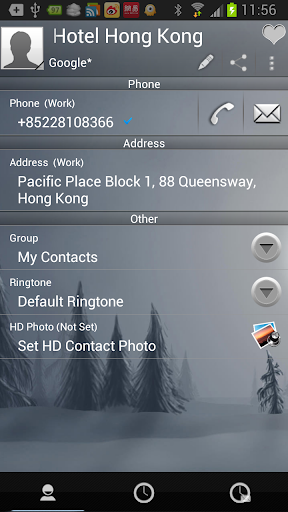 【免費通訊App】RocketDial Forest Theme-APP點子