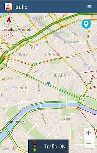 Road traffic info Spain