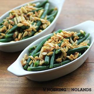 Leaner Green Beans #SundaySupper