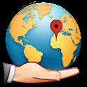 GPS Locate & Share Free logo