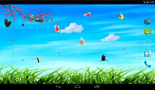 Sky Birds Live Wallpaper- screenshot thumbnail